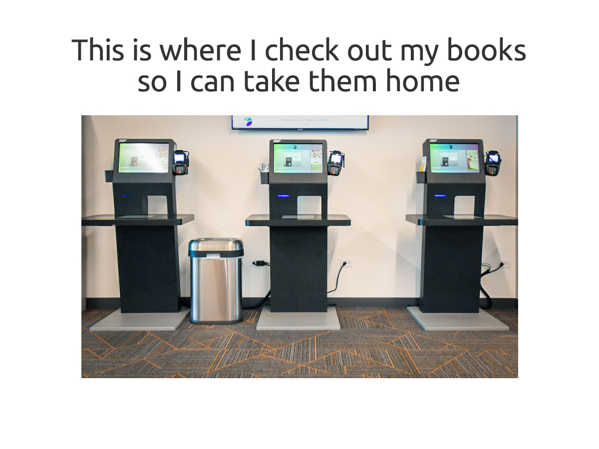 Self Check Kiosks